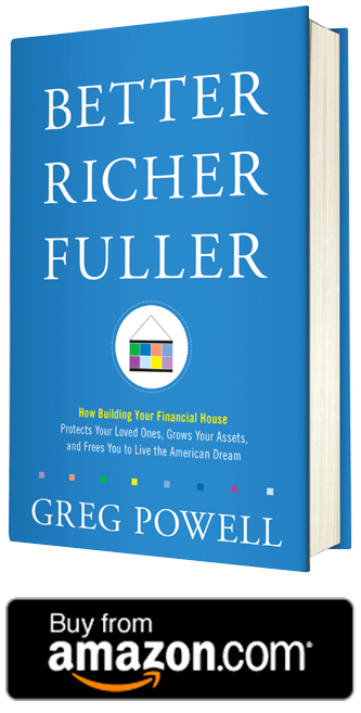 Better Richer Fuller Book with Amazon button